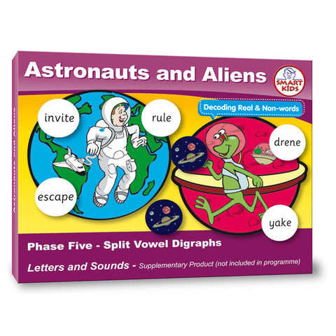 Astronauts and Aliens Phase 5 Split Vowel Digraphs