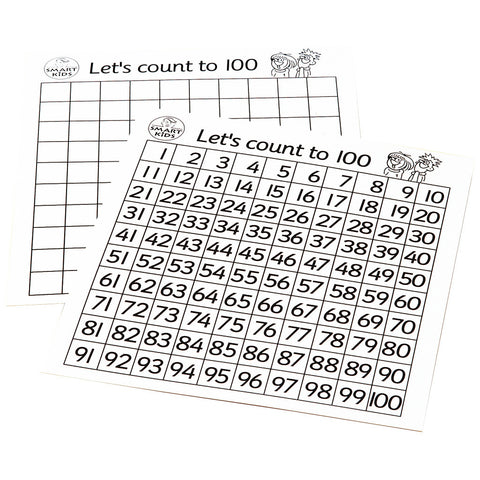 Laminated Hundreds Board