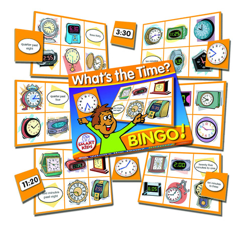 What's The Time? Bingo