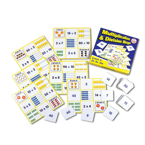 Multiplication & Division Bingo Level 1