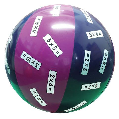 Multiplication x 2,3,4,5,10 Ball