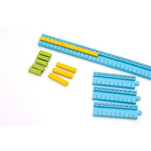 Numicon Number Rod Track 1-100cm
