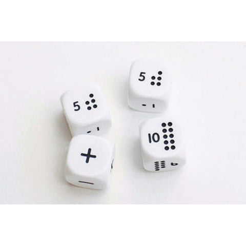 Numicon Dice Set of 4