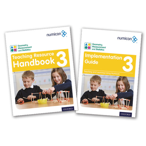 Numicon 3: Geometry, Measurement and Statistics Teaching Pack