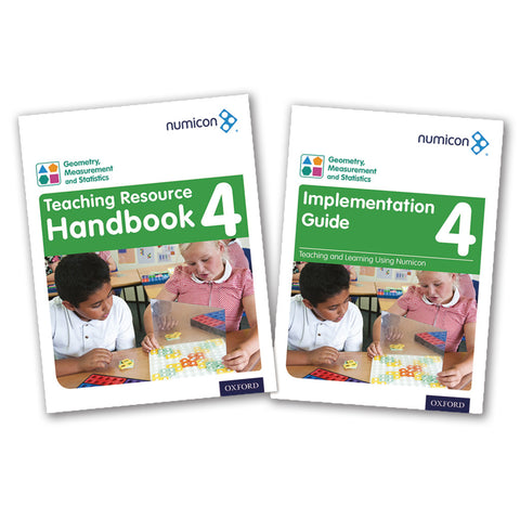 Numicon 4: Geometry, Measurement and Statistics Teaching Pack