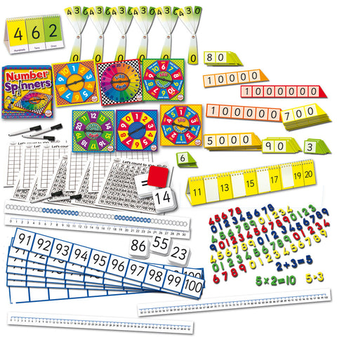 Numbers & Place Value Teaching Essentials Kit