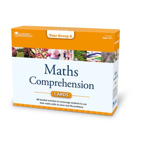 Maths Comprehension Cards (Year 6)