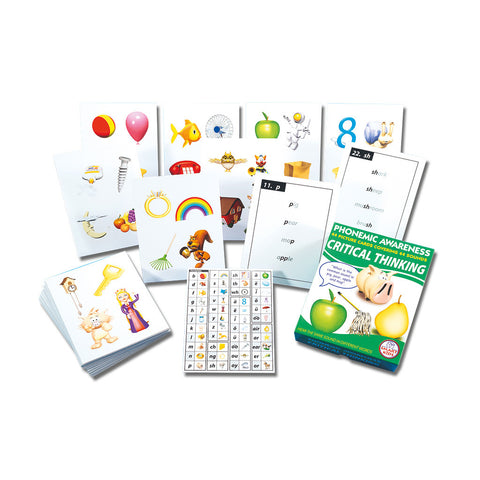Phonemic Awareness Critical Thinking Flashcards & Activities