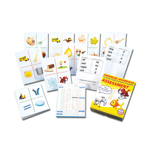 Phonemic Awareness Assessment Flashcards & Activities