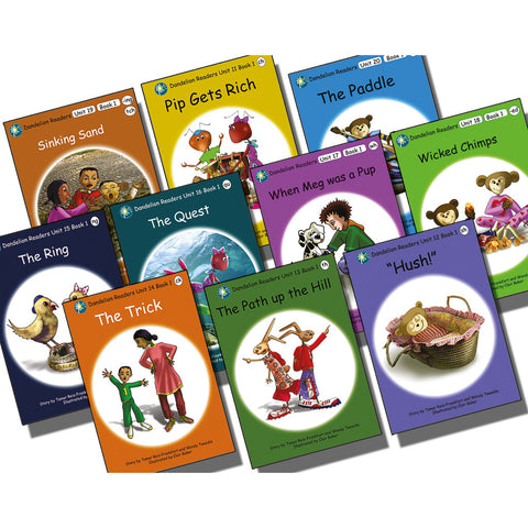 Dandelion Readers Book Pack Units 11-20 Series 1