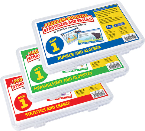 Problem-Solving Strategies and Skills Maths Cards