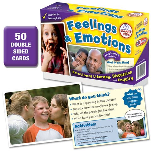 Feelings & Emotions 50 Cards