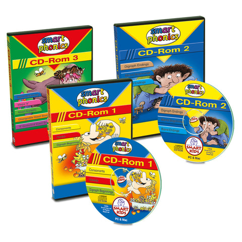Smart Phonics CD-Roms 1-3 SMART BUY!