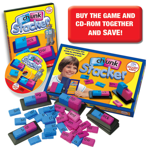 Chunk Stacker Game & CD-Rom SMART BUY!