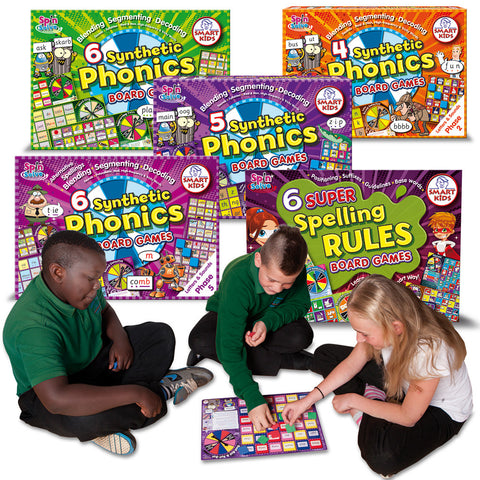 Synthetic Phonics Board Games Kit