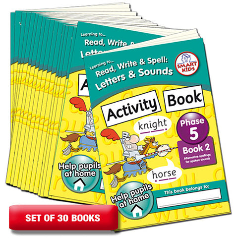 Letter and Sounds Phase 5 Activity Book 2 Pack of 30