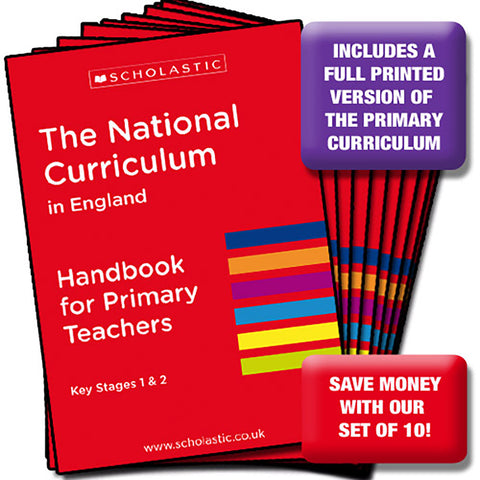 National Curriculum - Teacher's Handbook x 10