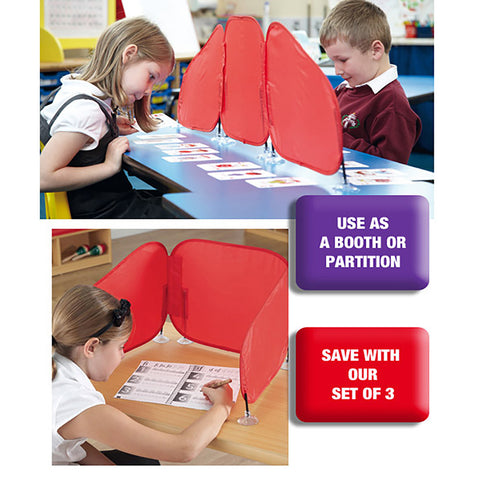 Pop-Up Partition Pack of 3