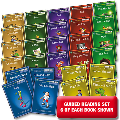 Guided Reading Set Dandelion Launchers Units 1-7 x 6 of each book