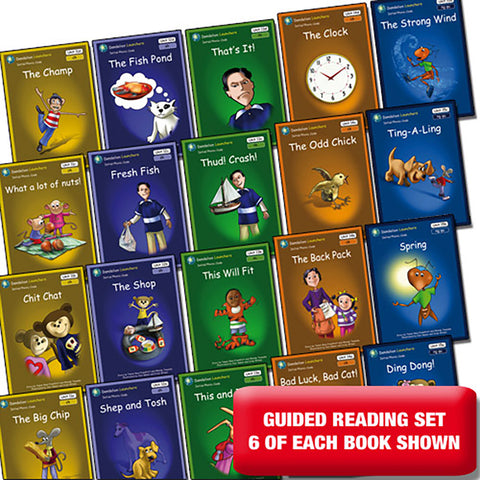 Guided reading set - Dandelion Launchers Units 11-15 x 6 of each book