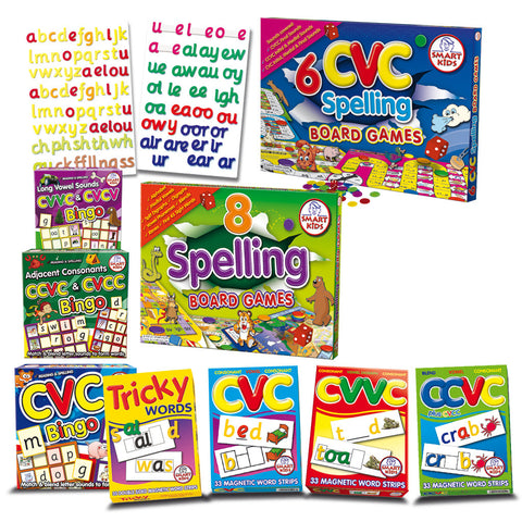 Focus on Basic Spelling Skills Kit