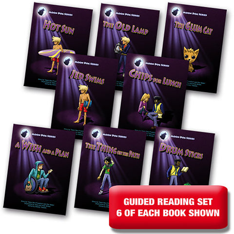 Moon Dog Series Set 2 Guided Reading Set