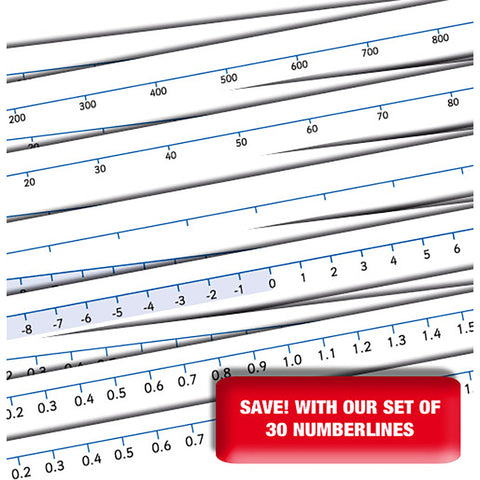 Magnetic Number Lines Level 2 x 6 sets