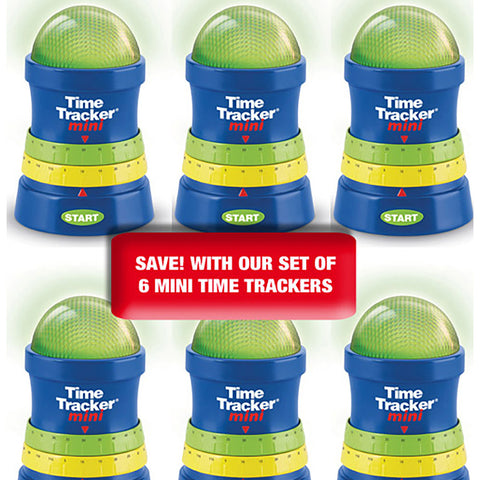 Time Tracker Mini Set of 6