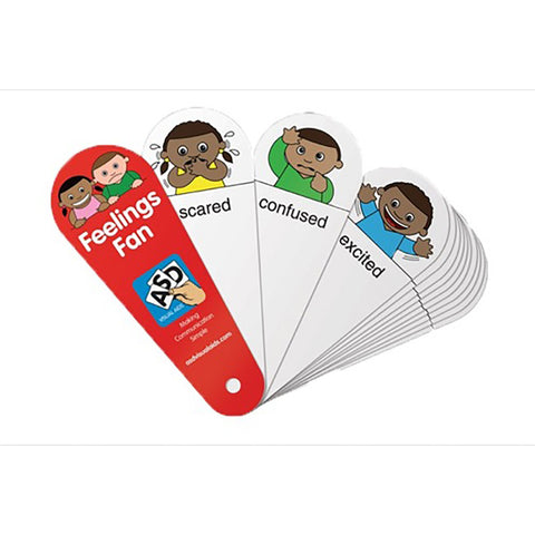 Feelings Fans (Pack of 6)