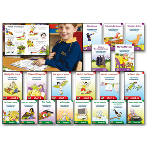 19 Vowel Sounds Booklets
