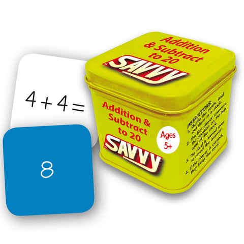 Savvy - Addition & Subtraction to 20