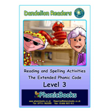 Dandelion Readers, Level 3 Reading & Spelling Activities