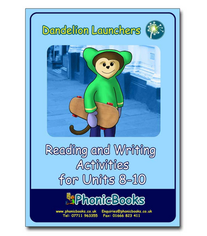 Dandelion Launchers Workbook Units 8-10
