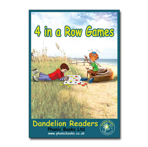 Dandelion Readers 4-in-a-row Games Units 8-15