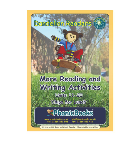 Dandelion Readers, Set 2, Units 11-20 Reading & Writing Activities