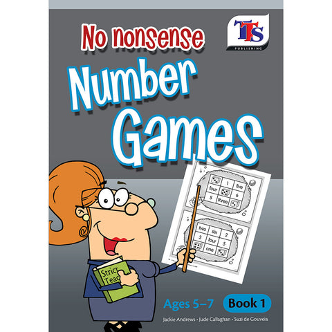 No Nonsense Number Games Book 1