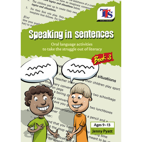 Speaking in Sentences Book 3