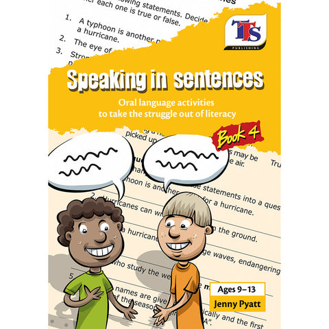 Speaking in Sentences Book 4