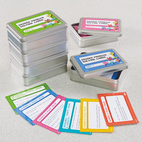 Graded Problem-solving Cards