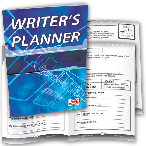 Writer's Planner (Pack of 6)
