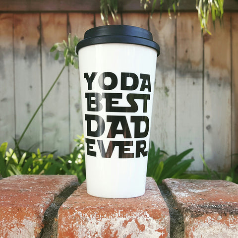 Yoda Best Dad Ever - Coffee Travel Mug