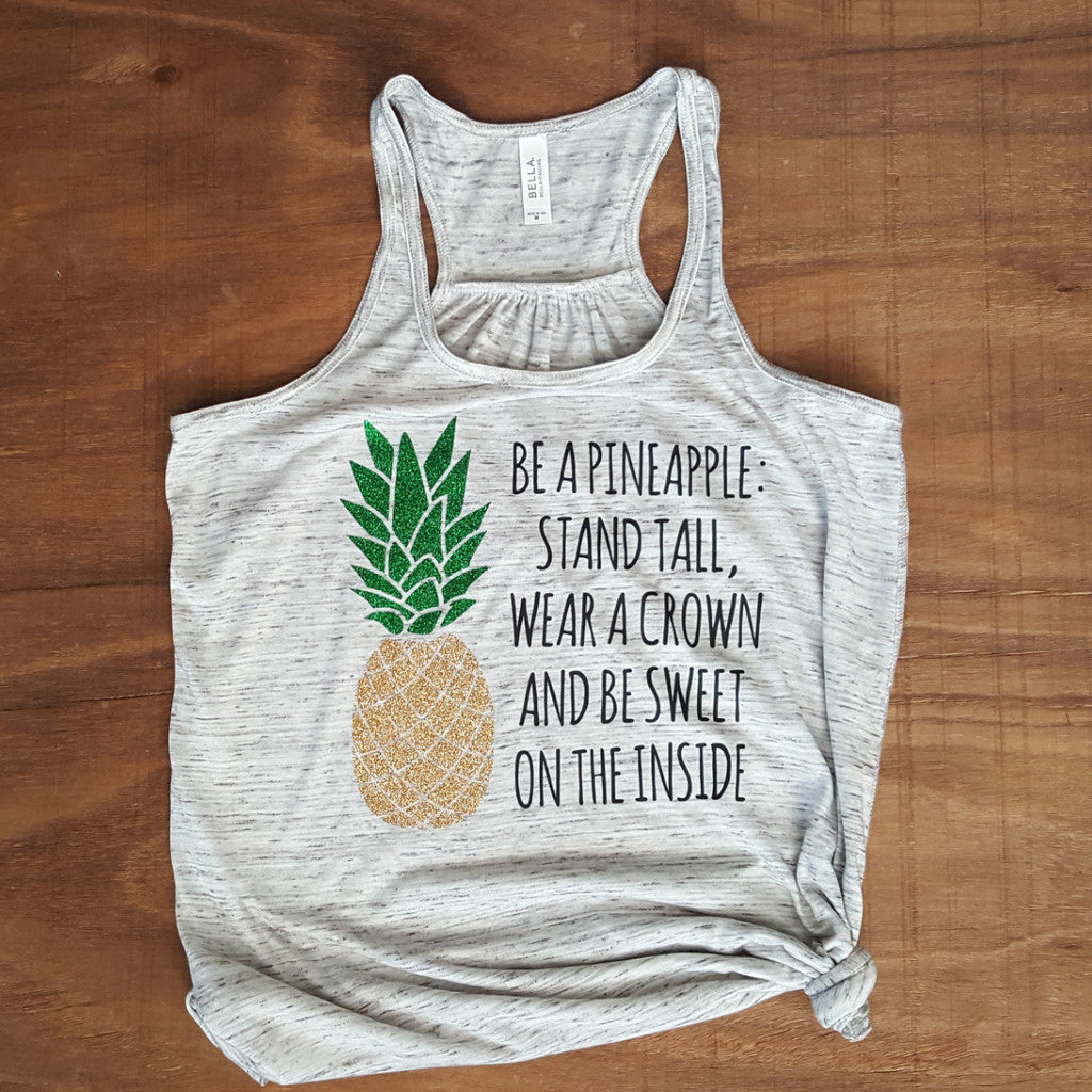 Be a Pineapple | Marble White