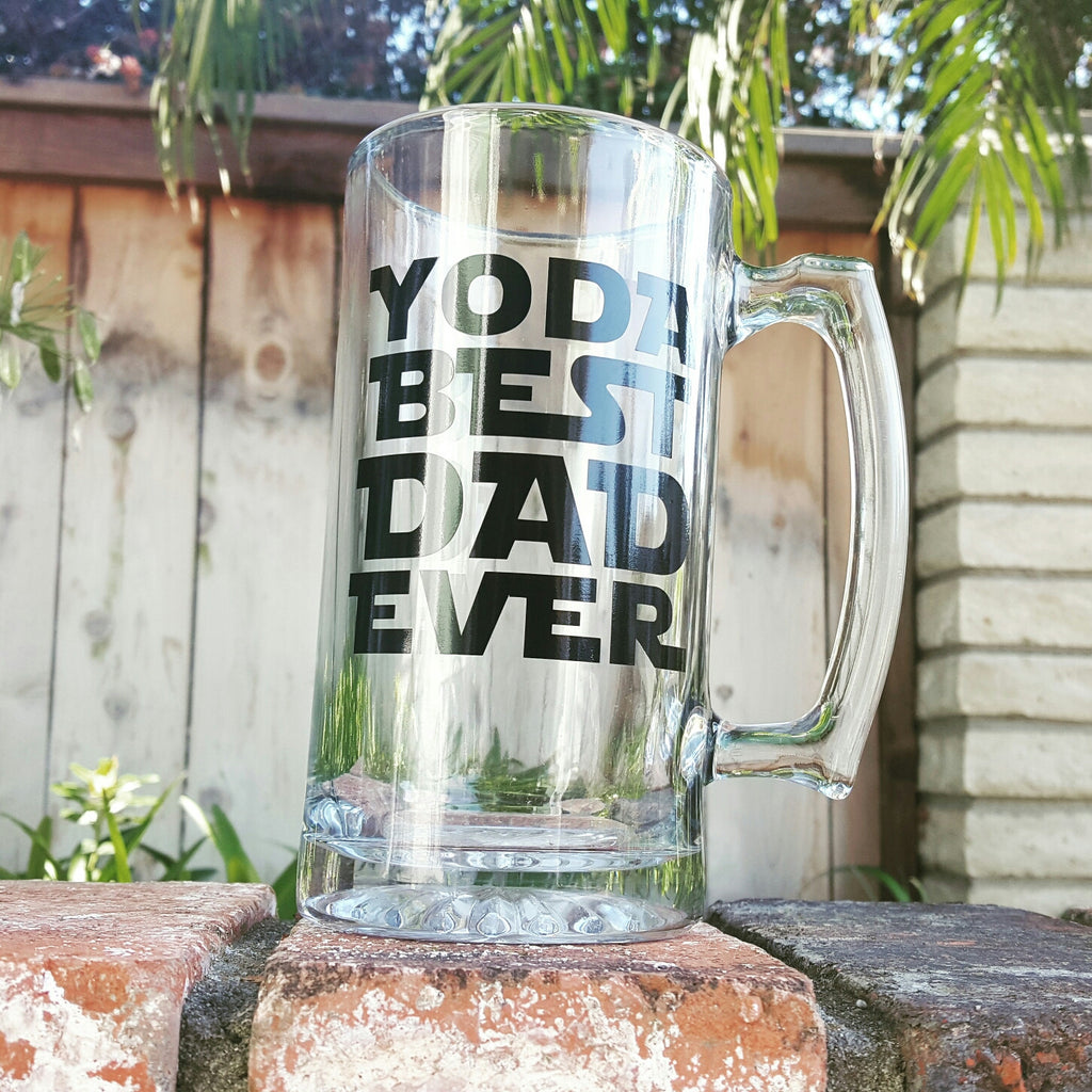 Yoda Best Dad Ever - Beer Mug