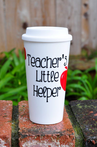 Teacher's Little Helper - Coffee Travel Mug