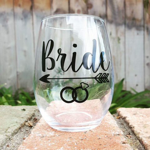 BRIDE - Wine Glass