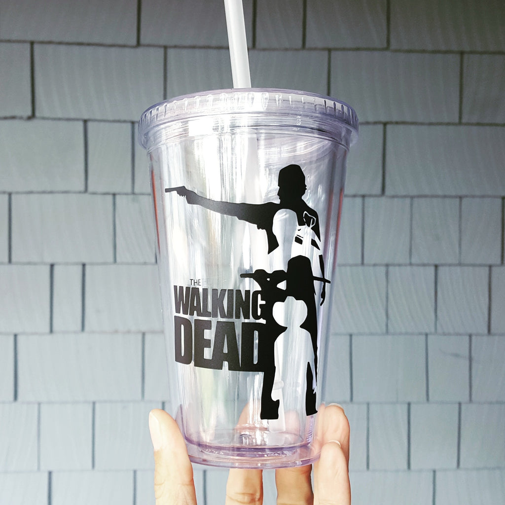 The Walking Dead Theme - 16oz Tumbler