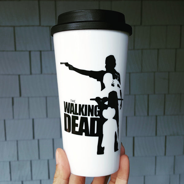The Walking Dead Theme - Travel Coffee Mug