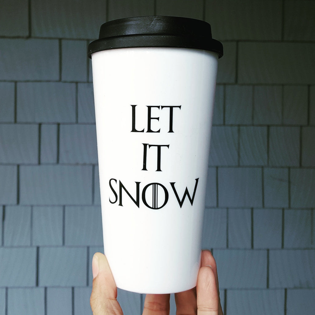 Let it Snow - Travel Coffee Mug
