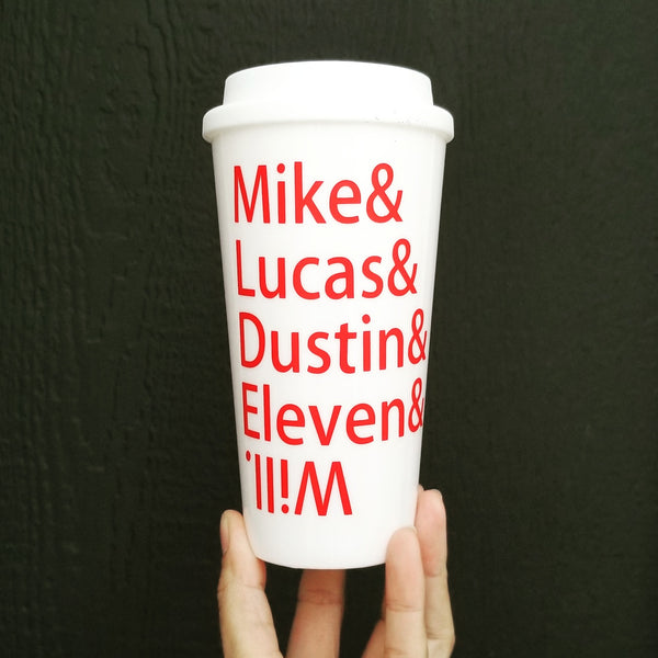 Mike, Lucas, Dustin, Eleven & Will | Stranger Things | Tumbler