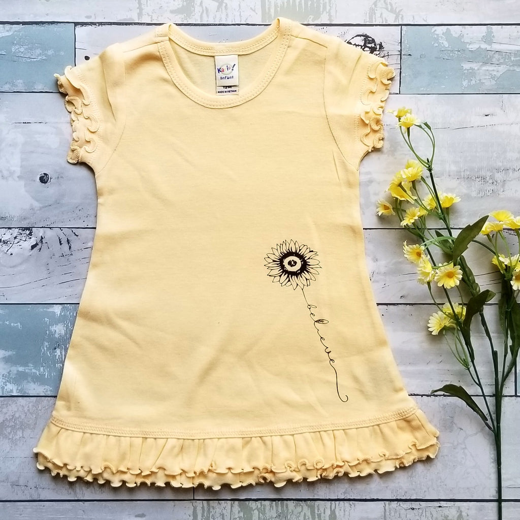 Sunflower {Believe} Dress | Yellow